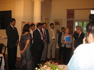 Interaction with the British High Commissioner