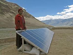 Abundant solar radiation in India!