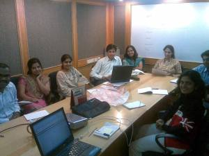 My CIOL edit team (L-R): Shiv Shankar, Rashmi, Ambika, Abhigna, Radhika, Sigi, Manu and Usha. Missing: Idhries and Denzil.