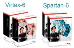 Xilinx's development kits for Virtex-6 and Spartan-6 FPGA families.
