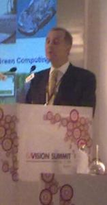 François Guibert, corporate VP and president, Greater China & South Asia Region, STMicroelectronics.