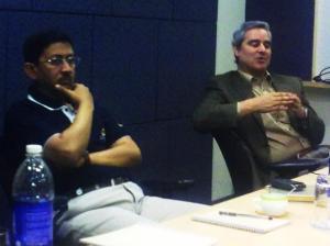 (L-R): Shantanu Ghosh, VP, India Product Operations, Symantec and Joe Pasqua, VP, Research, Symantec.