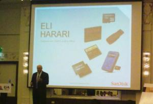 Dr. Eli Harari, chairman and CEO, SanDisk.