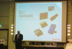 Dr. Eli Harari, chairman and CEO, SanDisk.