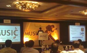 Rajeev Madhavan, chairman and CEO, Magma. speaking at MUSIC 2010.