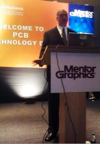 Jim Martens, product marketing manager, PADS Solutions Group, Mentor Graphics.