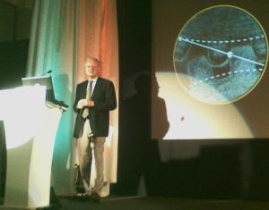 Dr. Aart de Geus - CEO & Chairman of the Board, Synopsys Inc. at SNUG 2010 India.