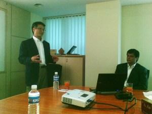 Xilinx's Victor Peng and Neeraj Varma.