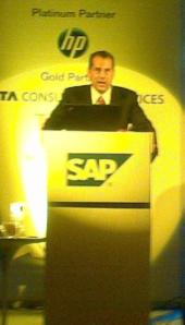 Peter Gartenburg, managing director, SAP India.