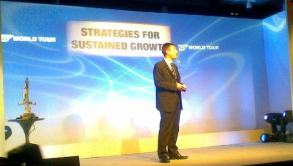 Peter Graf, chief sustainability officer and executive VP of Sustainability Solutions, SAP.