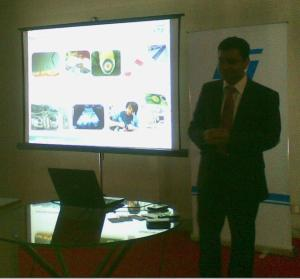 Vivek Sharma, regional VP, Greater China & South Asia region -- India Operations and Director, India Design Center, STMicroelectronics.