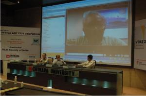 Panel discussion on Electronic Design for Indian Markets – Challenges and Opportunities @ VDAT 2010.