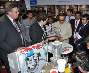Day 1 at Electronica and Productronica India 2010!