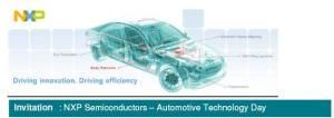 NXP Automotive Technology Day.