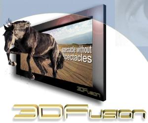 See the future of 3D TV, with the naked eye, today, says 3DFusion!