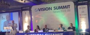 Dr. Bobby Mitra speaking at the ISA Vision Summit 2011.