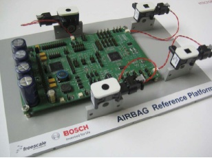 Freescale Bosch airbag reference platform.