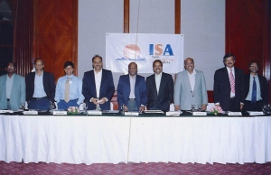 The ISA is born! Oct. 28, 2004, Bangalore, India.