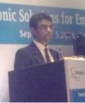Dr. Pradip Dutta, chairman, ISA.