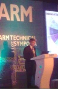 John Cornish, VP and GM, Design Division ARM.