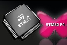 The STM32 F4 series of MCUs.