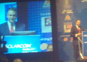 Francisco J. Sanchez shows commitment to Indian solar PV industry.