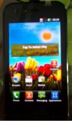 LG Optimus Sol E730.
