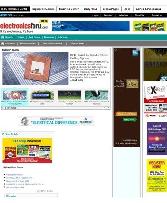 EFY's Website.